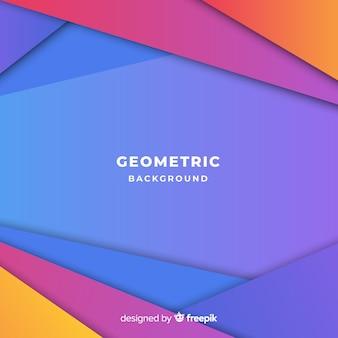 Абстрактный фон с красочными треугольниками