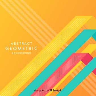 幾何学的なデザインと現代抽象的な背景