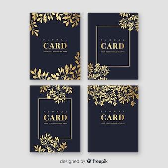 黄金の花カードコレクション
