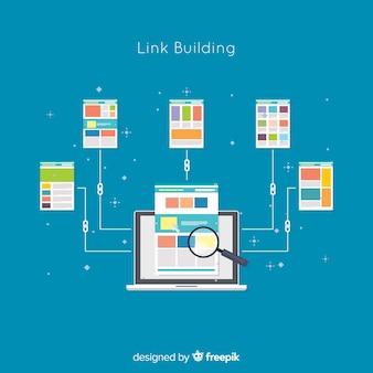 リンク構築概念