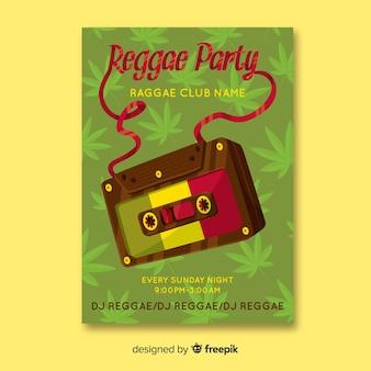 Регги вечеринка баннер