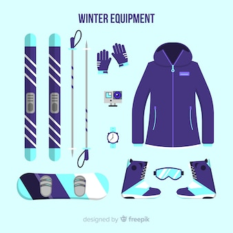 Зимнее спортивное оборудование