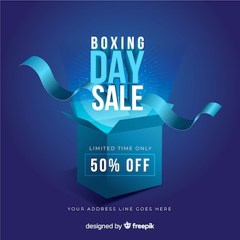 Реалистичный день продажи бокса