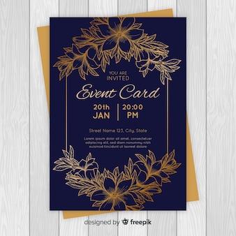 黄金の花カード