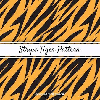 タイガーストライプパターン