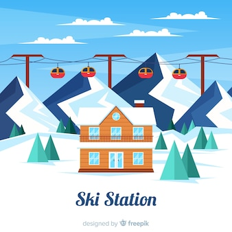 Плоская лыжная станция