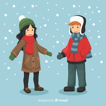 Коллекция зимних детей
