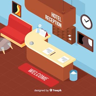 ホテルレセプション