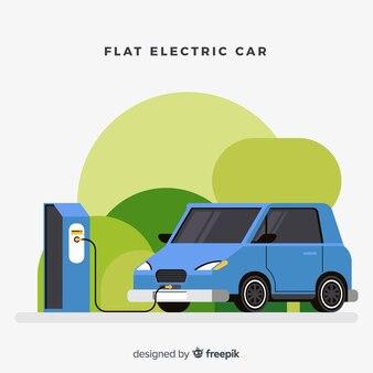 フラット電気自動車