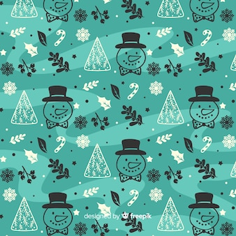 冬のパターン