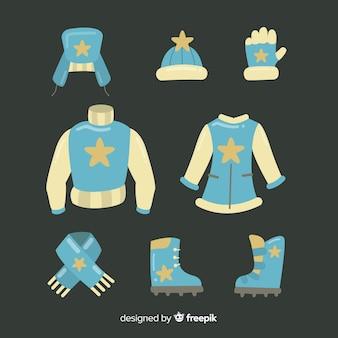 フラットな冬の服と本質