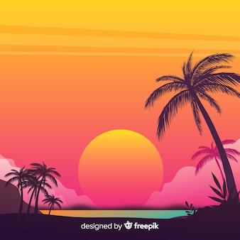 風景の背景