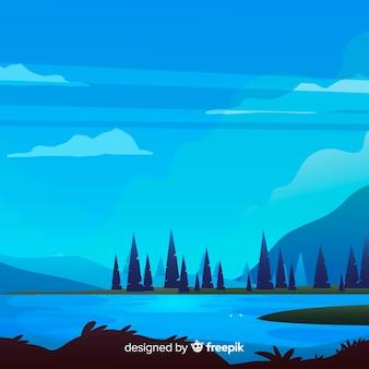 Пейзажный фон