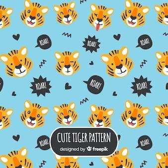 タイガーはパターンに直面する