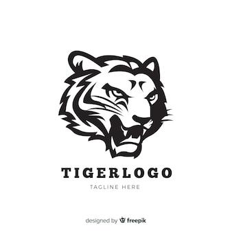 Ревущий тигровый логотип