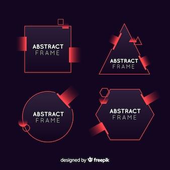 抽象的なフレームセット