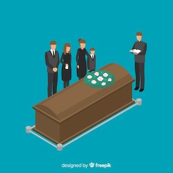 Фон похоронных церемоний
