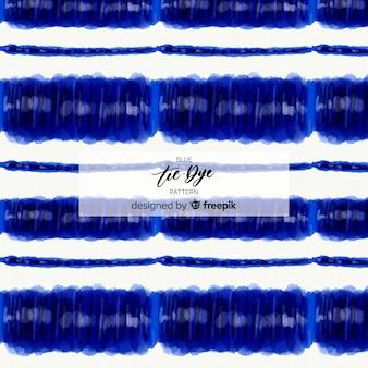 青色のタイ染料パターン