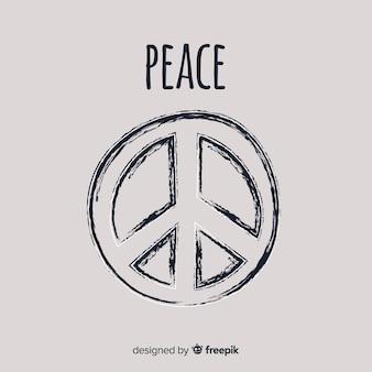 Буш мир знак фон
