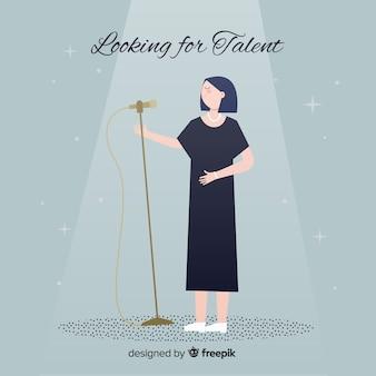 才能を探している