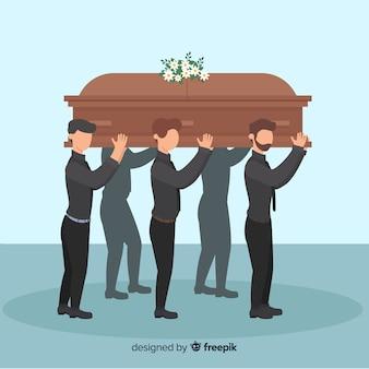 葬儀の背景