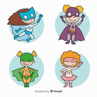Женская коллекция супергероев