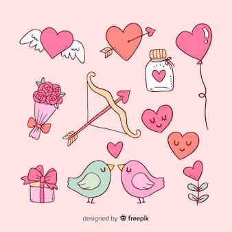 バレンタインデー要素コレクション