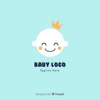 Логотип плоского ребенка