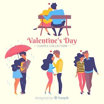 Пара в день святого валентина