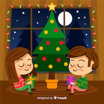クリスマスファミリー