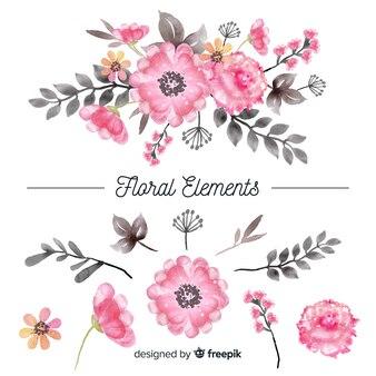 Цветочные элементы