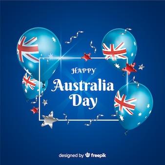 現実的なオーストラリアの日の背景
