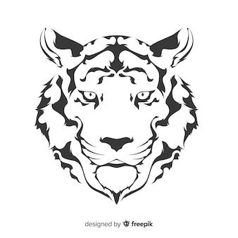 タイガーの顔