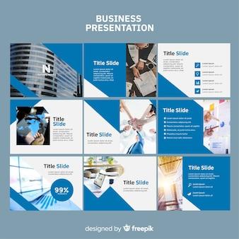 Шаблон бизнес слайд презентации