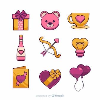 バレンタイン要素コレクション