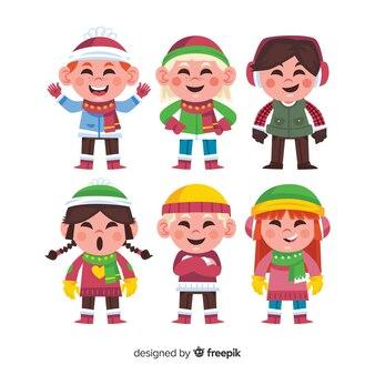 Зимняя детская коллекция