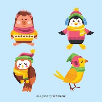 冬の動物コレクション