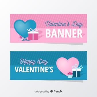 バレンタインデーのバナー