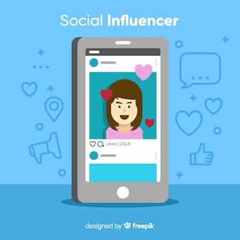Социальный влияющий