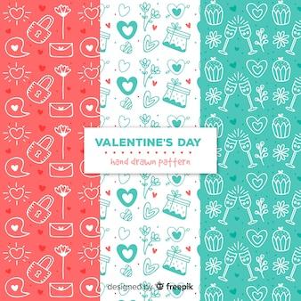バレンタインパターンコレクション