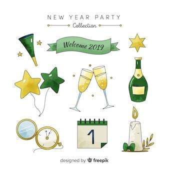 Коллекция новогодних вечеринок