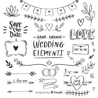 Коллекция свадебных элементов