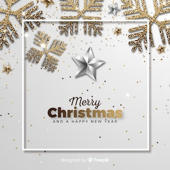 クリスマスの背景