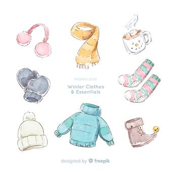 冬服と必需品