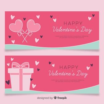 甘いとギフトのバレンタインバナー