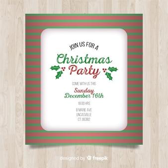 Рождественская вечеринка баннер