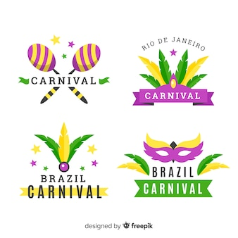 Коллекция бразильских карнавальных этикеток