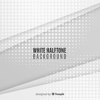 白いハーフトーンの背景