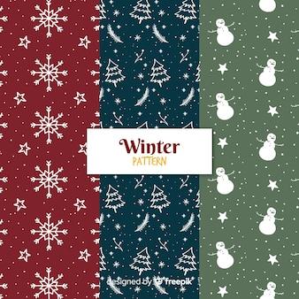 冬パターンコレクション