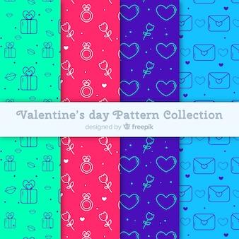 Коллекция шаблонов для дня святого валентина